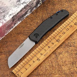 Yeni ZT 0230 Kayma-Ortak karbon fiber kolu Mark 20CV Cep Survival EDC Aracı kamp avı açık mutfak katlama bıçak