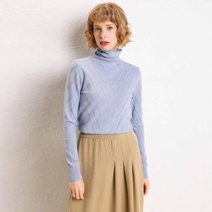 zocept alta qualidade camisola de gola alta Mulheres 2020 Outono Inverno grosso pulôver Sólidos malha Jumper camisola pilha colar
