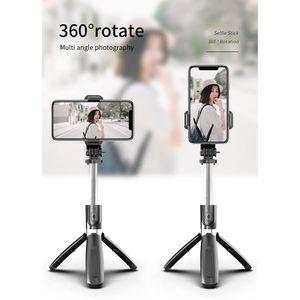 Selfie Stick مع جهاز التحكم عن بعد ومرآة بلوتوث لاسلكية محمولة Selfie Monopod مع حزمة البيع بالتجزئة