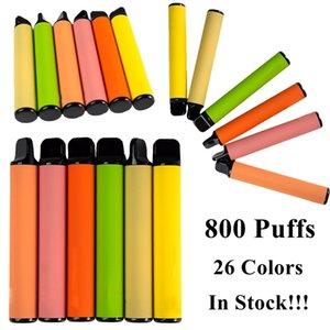 Hot 26 colori monouso Pod dispositivo 550mAh Battery Capacity 3.2ml Vape Carts Vape Pen E Cigarette Starter Kit Con il codice di sicurezza