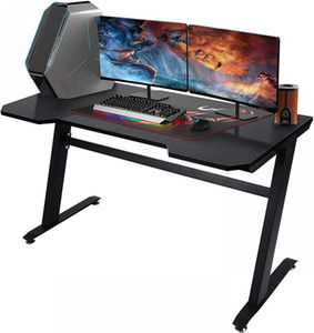"""47.2 """"Computer Computer Coin bureau, bureau de jeux à domicile, bureau de bureau de bureau, économie d'espace, facile à assembler, noir W20615682"""