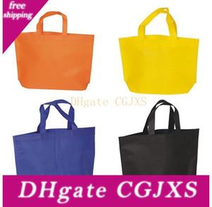 25x30cm bolsas de regalo reutilizable de Eco -Friendly no -terciopelo bolsas de la compra Partido Volver Bolsa de regalo