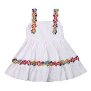 Excelent Clearance New summer babys Dress Toddler Kids Baby Girl Floral Ruffled Bow Backless Party Casual Dress Sundress Z0207