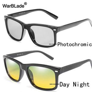 Warblade Nuovo Polarized Sunglasses fotocromatiche uomini di visione notturna Occhiali da sole Giorno Notte Occhiali antiriflesso guida Eyewear