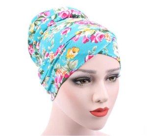Леопардовый Муслим Моды женщины Hijabs мусульманской хлопка крышка Внутренней крышка исламской головной убор Hat Under Scarf