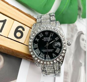 2020 новые часы алмаз Watche серебряный циферблат тег часы мужские спортивные наручные часы складной стальной лентой спорта любителей смотреть водонепроницаемый Relogio кварц