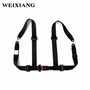 Universal 4PT 4 Point Sport Racing Seat Safe Harness Car Seat Belt Safety Harness For Entertainment Devices rri9#