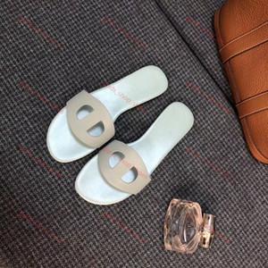 Hermes flip flop 2020 sandálias progettista Lusso homens borracha Cat Tiger abelha impressão de couro macio mulheres sandálias chinelo tamanho 35-45