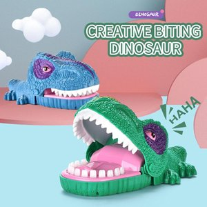 funny bite finger gags toy dinosaur mouth biting finger toys interactive family party novelty game for kid animal gift 06