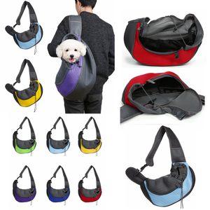 لوازم حقيبة 6styles كلب القط الناقل الكتف حقيبة الجبهة الراحة للسفريات حمل واحدة الكتف جرو المحمولة الحيوانات الأليفة حقيبة الظهر الحيوانات الأليفة FFA4459