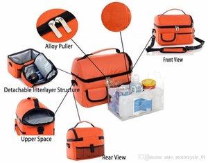 8L ткань Оксфорд 10мм EPE Mutifunctional Car Cooler Bag сиденья Органайзер Карман Транскрипция кресло автомобиля Стайлинг Автокресло CoverFree Доставка