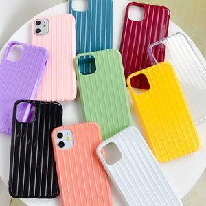 Anti-caída de silicona suave TPU prueba de golpes Teléfono de nuevo caso de iPhone para, Huawei, Samsung, HTC, Vivo, OPPO teléfonos celulares cubierta de protección