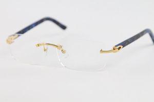 Fabricantes atacado 8200757 Gold Silver aro óculos óculos armações dos homens das mulheres de ouro óculos de armação Tamanho: 56-18-140mm