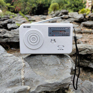 Am Fm Radyo Güneş El Crank Radio Acil ve Akıllı Telefon Şarj için 500 mAh pil Dahili