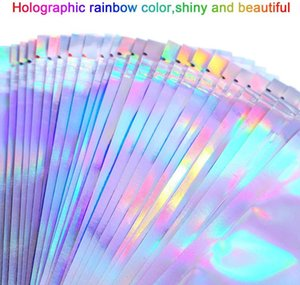Holographic Package Zip Boxes Bag Lashes Laser Packaging Lock Party Box Idea Lash Wholesale Eyelashes Favor Custom Logo Sticker Bsfpj