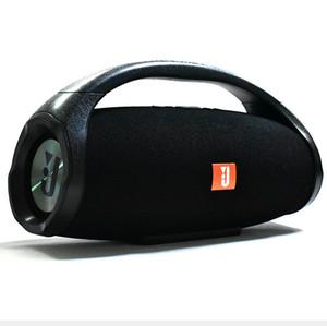 Wrdlosy Super-Boombox Subwoofer Bass beweglicher drahtloser Spalt Mp3 Musik Boombox-Player mit TF USB Hands Free Powerbank Geschenk-Kasten DHL