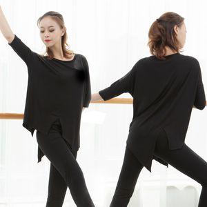Twelve Colors Latin Dance Practice Costume Women Rave Short Sleeves Top Yoga Ballroom Jazz Street Dance Practice Costume BL4080