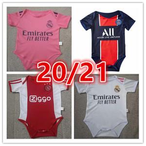 2020 2021 أحدث طفل جيرسي طفل اياكس لكرة القدم الفانيلة 20 21 نادي 6-18 شهرا بأكمام قصيرة قميص طفل لكرة القدم بالقميص لكرة القدم