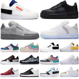 2020 ares N354 Mens Tipo GS Low Top 1 07 Mulheres N.354 Preto Summit Branco Reagir Esporte Formadores Designer Running Shoes forcée One
