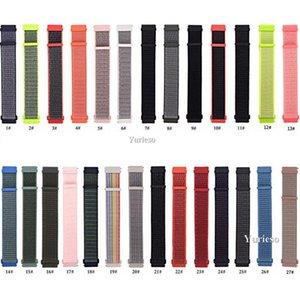 Cgjxs Novo relógio de Nylon Strap Banda terno para Samsung Gears3 / S2 Tamanho 20 milímetros 22 milímetros Multicolor Esporte Relógios Acessórios Wholesale Factory Direct Ho