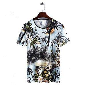 Männer-T-Shirts aus 100% beiläufige Kleidung Stretchds Kleidung Natürliche Farbe yhkkbm Schwarz Baumwolle Kurzarm Gewohnheit Cartoon Männer-T-Shirt ki9dias