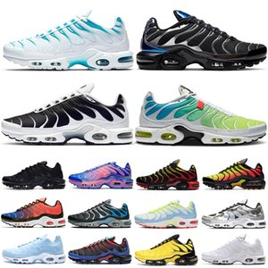 Mercurial Designer Sneakers Chaussures Homme TN Running Shoes Men Zapatillas Mujer Mercurial TN Running Shoes 36-46