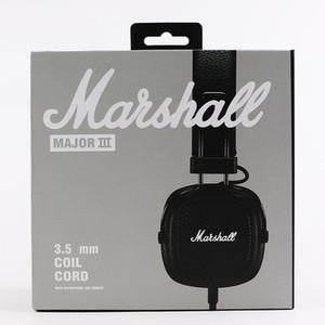 Cgjxs Marshall Major Iii 3 .0 Bluetooth casque Casque DJ Deep Bass Noise Isolating Headset Ecouteur Major Iii 3 .0 sans fil Bluetooth