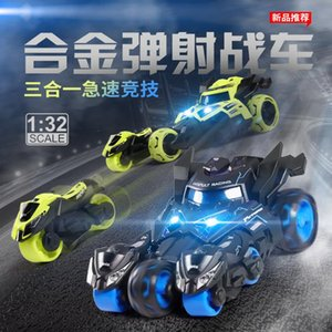 1:32 Alloy Car Pull Back Diecast Model Toy Sound Light Simulation Collection Brinquedos Eject Car Vehicle Toys For Children Christmas Gift