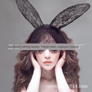 Er Q4Upb Uzun Gece underw Tu Temptation İç Tu Dantel Göz Seksi Er Üniforma Saç Aksesuarları Kulak Veil Dantel Maske Tavşan Sp6w2 Seksi Nsscp