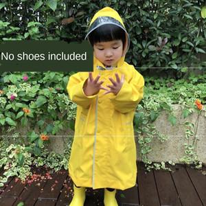 Çocuk anaokulu bebeğin schoolbag rüzgar geçirmez Kız panço çocuk Erkek Çocuk Schoolbag Cloak yağmur dişli yağmur dişli yağmurluk