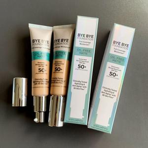 Makeup Bye Bye Foundation Concealer Full Coverage Moisturizer oil free matte Foundation SPF 50+ Cream 30ml Contour Concealer Light Medium