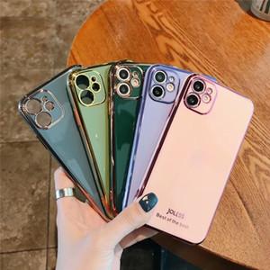 2020 nuova galvanica Phone Case for iPhone 12 11 Pro MAX casi di telefono XR 8 7 Plus di vendita caldo TPU