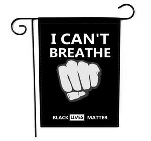 BLACK LIVES MATTER Flag, Garden Flag, 9 Styles Outdoor Peace Protest Justice Banner Handheld Flag DHL Free