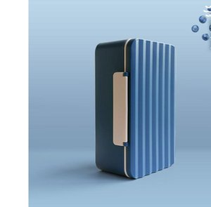 Forma ondulada Sencillez Plastic Lunch Box Microondas Horno disponible