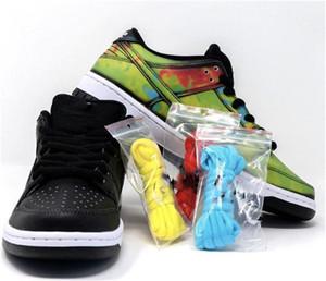 Yeni Sürüm Otantik Civilist SB Dunk Siyah Düşük Açık Erkekler Kadınlar Kaykay kutusu Spor Sneakers Ayakkabı