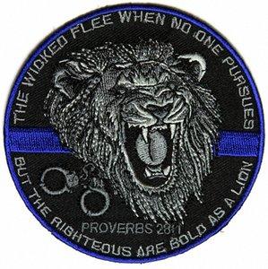 Top-Qualität Der Gerechte Bold As A Lion Patch für Law Enforcement Real Man Chest Jacke Eisen auf Flecken-freies Verschiffen M2Xd #