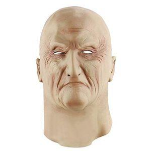 Drôle Deformed Old Man Party Fear Décor Facial Halloween Masque Latex Props