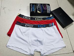 Hommes d'été Caleçon Sous-vêtements Boxer solide Hommes élastique Culotte Ice Silk XXXL