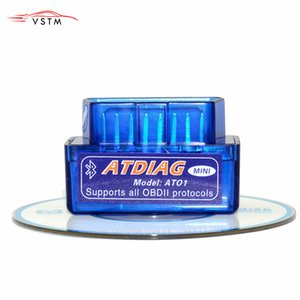 diagnostica originali ATDIAG mini Elm327 Bluetooth v2.1 Auto Scanner Elm327 adattatore OBDII Auto Diagnostic Tool