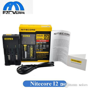 Best Selling Nitecore I2 carregador universal para 16340/18650/14500/26650 Bateria US UE AU UK Ligue 2 em 1 Intellicharger carregador de bateria