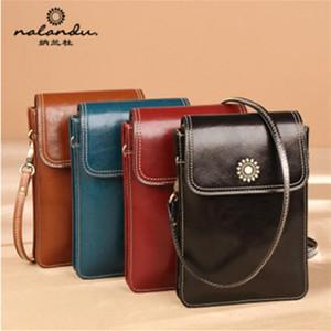 cuero de moda G7 Nalandu bolsa de las mujeres de telefonía móvil 2020 nuevos de cuero bolso bolso mini mensajero de las mujeres de las mujeres de moda