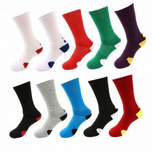 Der Großhandelsmänner verdicken Tuch Socken Outdoor Sports Socken Qualitäts-Männer Elite Schuh rofessional Basketball Fußballsocken fre pVHf #