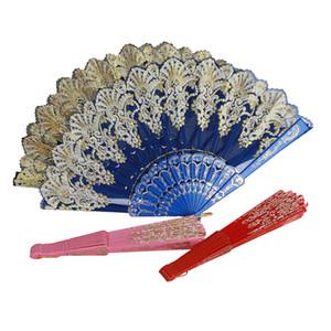 Japanese Style Bronzing Fan Style Lady Printing Folding Dance Craft Custom Fans Hand Made Japan