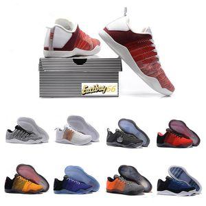 Top 11 Elite Low Männer Gold-Black Mamba Oreo-Basketball-Schuhe der Männer 11s Trainer Designer Chaussures Schuhe Sport Sneakers 7-12