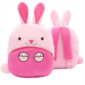 Toddler Design School School Bags Borse asilo Zaino 3D Girls Giocattoli per bambini Bookbag Rabbit Animal Boys Bambini Bambini Carino Cartoon SGACG CKBX