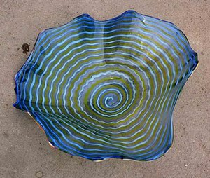 2020 Blown flor cuencos mano Galss montaje de pared de vidrio Lámparas Dale Chihuly estilo de arte de la pared de cristal