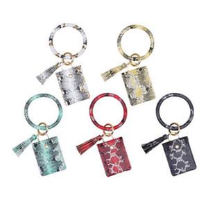 PU Key Chain Snake Serpentine Tassel Purse Car Bag pendant Korean Luxury Accessories Fashion Jewelry Wholesale