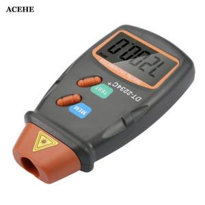 ACEHE Yeni Dijital Lazer Fotoğraf Takometre Sigara İletişim RPM Öğr.Gör.Tach Dijital Lazer Takometre Kilometre Hız Ölçer Motor Arrive