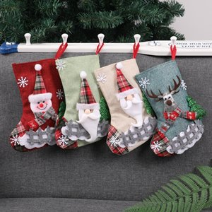 Hristmas Süßigkeit Trumpf-Geschenk-Beutel Bäume Ccreative Socken Hanging on Wall Weihnachtsdeko Uciv