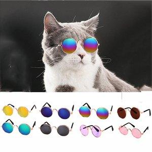 Productos para mascotas para mascotas Gafas de gato de gato encantador para gafas 1pc Little Dog Dog Eye-Wear Gafas de sol Fotos Accesorios 29 DNJXJ